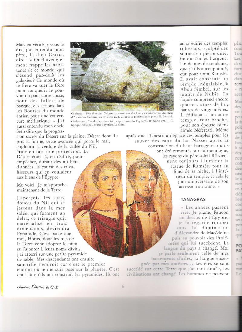 L'Histoire d'Horus Faucon