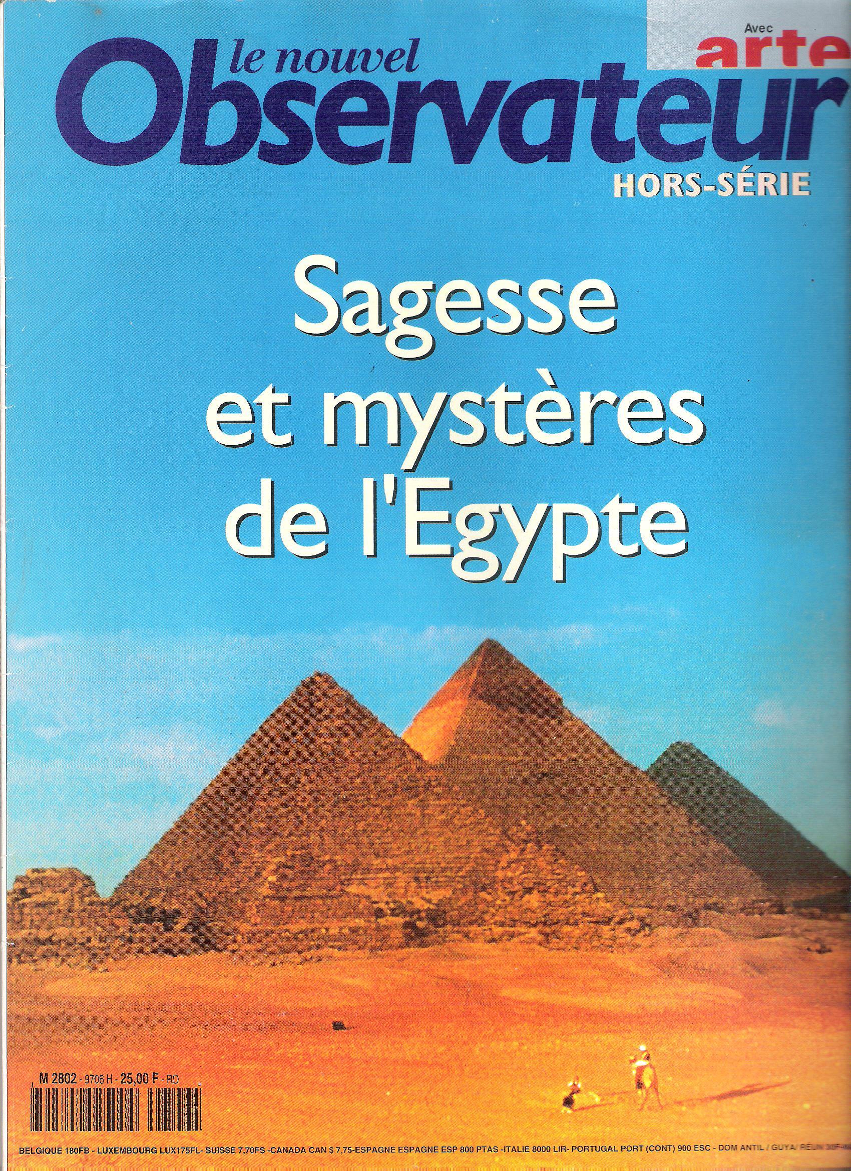 Sagesse et mystères de l'Egypte